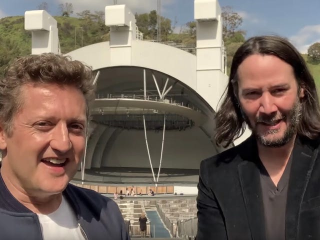 Bill and Ted Have an Announcement: Their Third Adventure Is Coming Next Summer