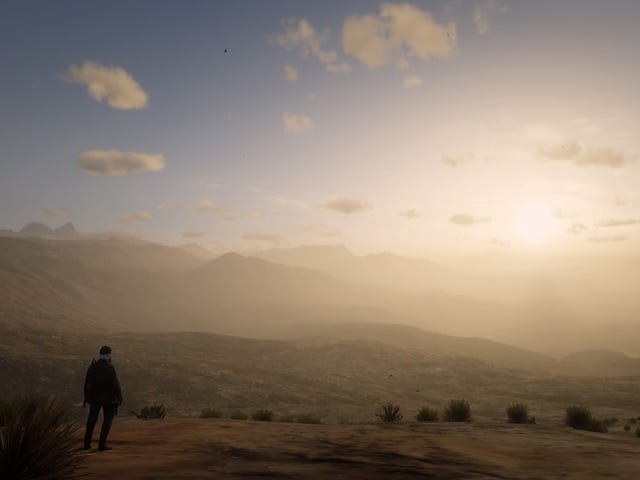 Red Dead Online Players Escape Game World, Find Beautiful Desert Paradise