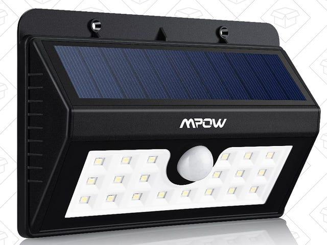 Lys din yard med Mpows bevægelsesfølsomme sollys