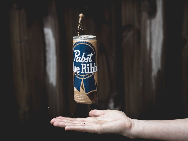 By god, PBR hard coffee might actually serve a purpose