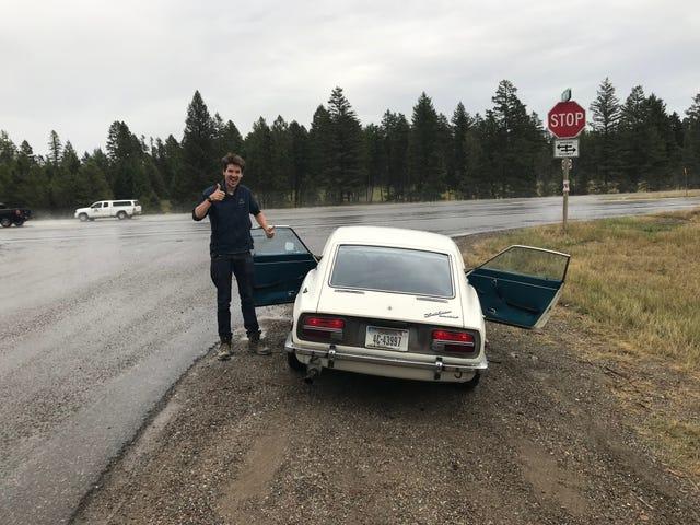 Tuleva kasanomistaja tuli Montanaan ja yritti varastaa Datsunini