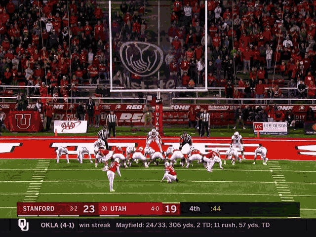 It's The Rare Double-Clutch Extra Point Attempt