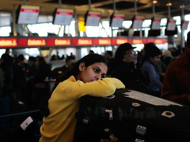Sådan sparer du på airline bagagegebyrer