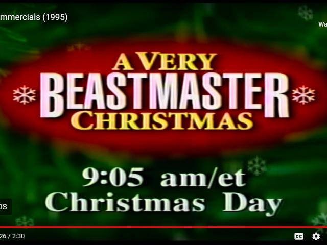 Una Navidad muy bestmaster
