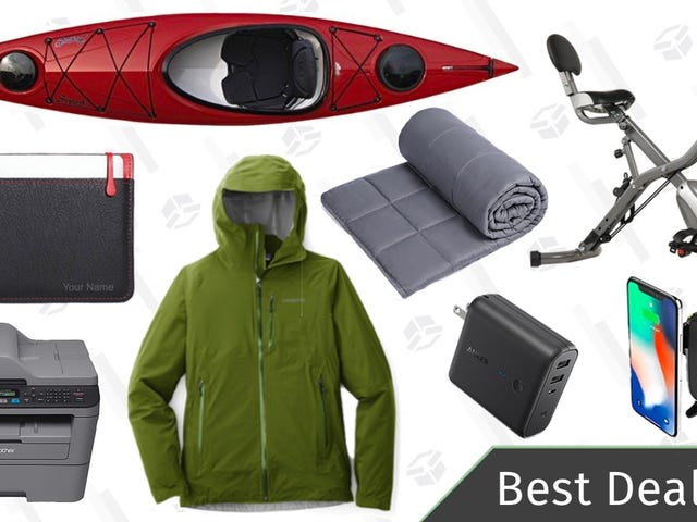 Friday's Best Deals: REI's Anniversary Sale, Weighted Blankets, Brother Printer, and More