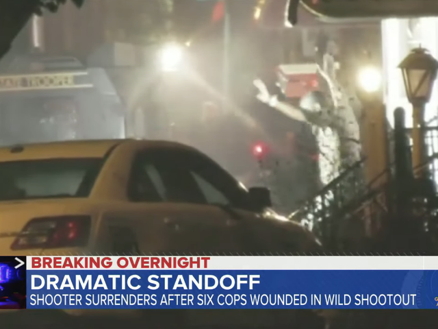 Suspect Surrenders After Shooting 6 Police Officers During 8-Hour Standoff in Philadelphia: 'It Was Like a War'