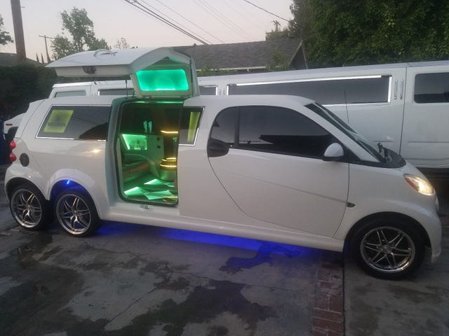 At $60,000, Could This Custom 2014 Smart Limo Fuel Your Small Business Fantasies?