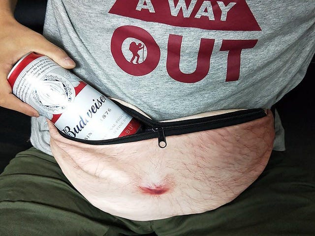 That Dumb Beer Belly Fanny Pack Is Only $9 Right Now