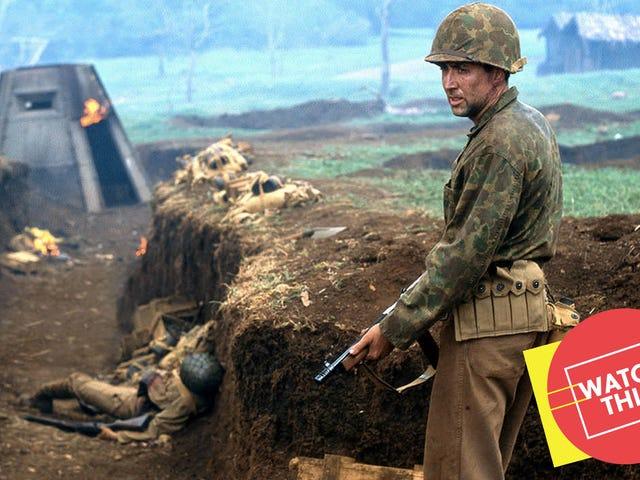 Efter <i>Face/Off</i> , återförenades John Woo och Nicolas Cage för en allvarlig krigsfilm