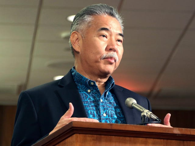 Hawaii Gov. David Ige Forgot His Twitter Password During That Fake Ballistic Missile Alert