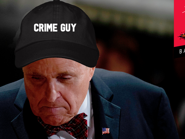 Crime Guy Rudy Giuliani Signs Up to Tell On Himself at Impeachment Trial