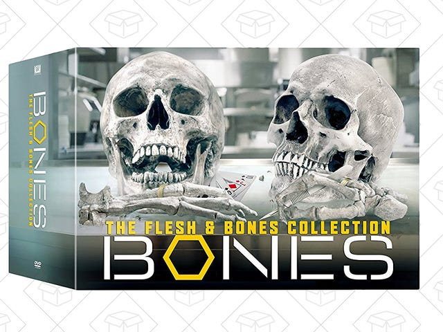 Uncover Some Savings With Bones The Complete Series, On Sale Today Only