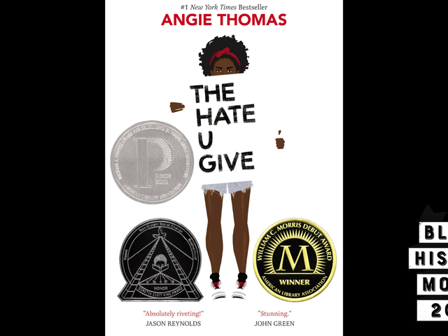 28 Days of Literary Blackness with VSB | Day 25: The Hate U Give by Angie Thomas