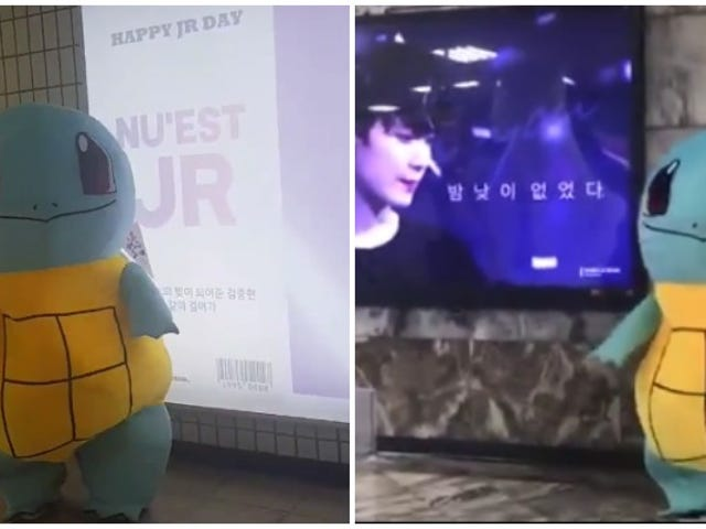 K-pop Superstar Dresses Up As Squirtle To Check Out Fans' Birthday Wishes