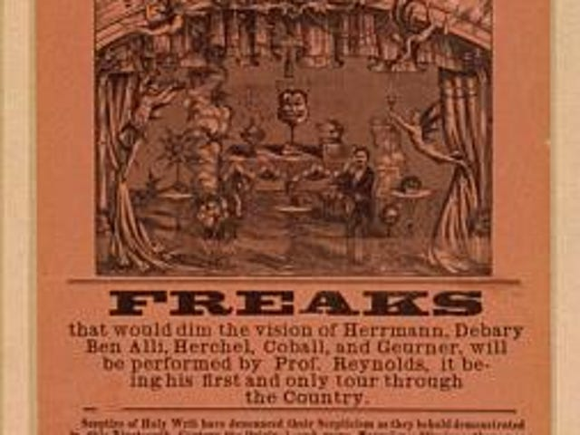 Prof. H.B. Reynolds in Freaks
