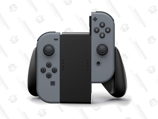 Get Yourself a Joy-Con Grip For a Low $10