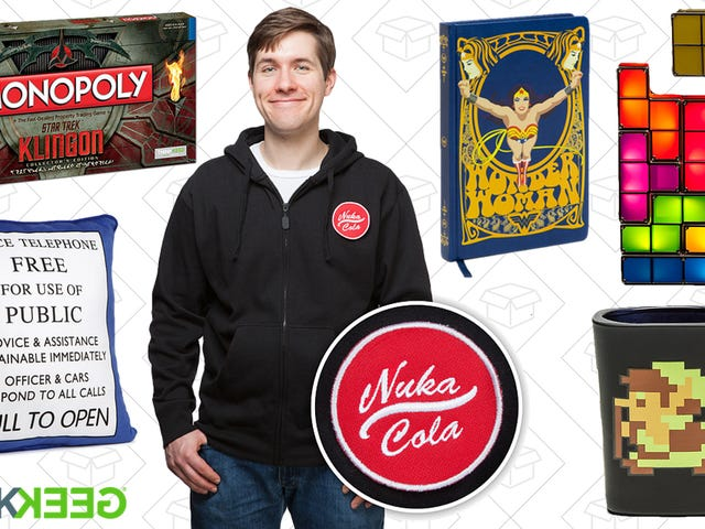Grab Your Favorite Geeky Gear For Up to 60% Off at ThinkGeek