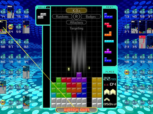 Tetris 99 is a singular creation of evil, time-devouring genius
