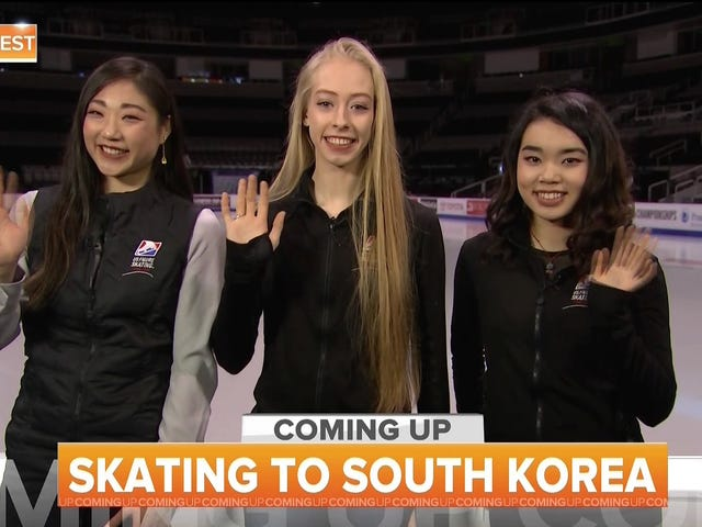 Bradie Tennell、Mirai Nagasu、Karen Chen、オリンピックでフィギュアスケートを代表
