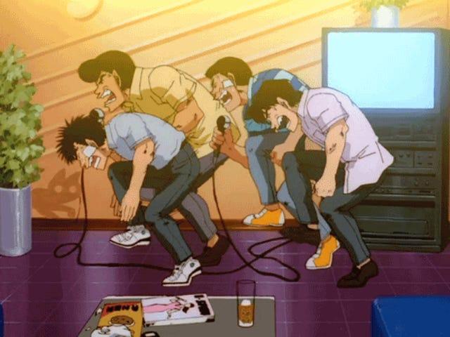 Anime μουσική και καραόκε