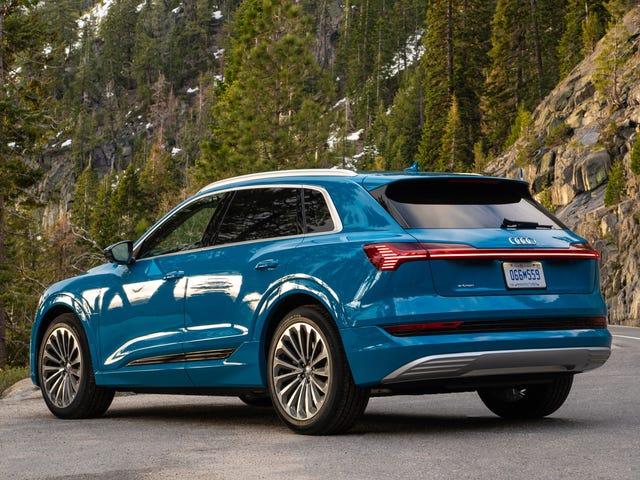 Audi descubrió cómo sacar 15 millas más de alcance del E-Tron