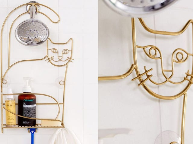 This Shower Caddy Is the Purrfect Gift for Any Cat Lover
