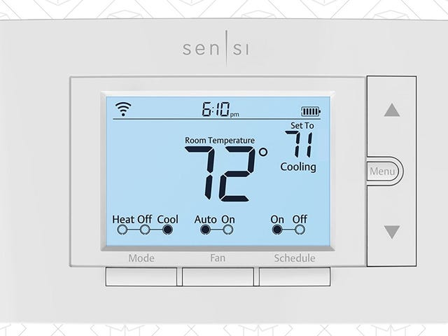 This Basic-Looking Thermostat Has Nest-Like Features For Under $100