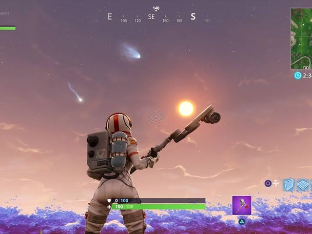 Fortnite Has More Falling Meteors Now And It's Freaking Players Out