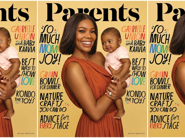 Kaavia's 1st Cover: Gabrielle Union and Her Baby Daughter Make Their Debut on Parents Magazine