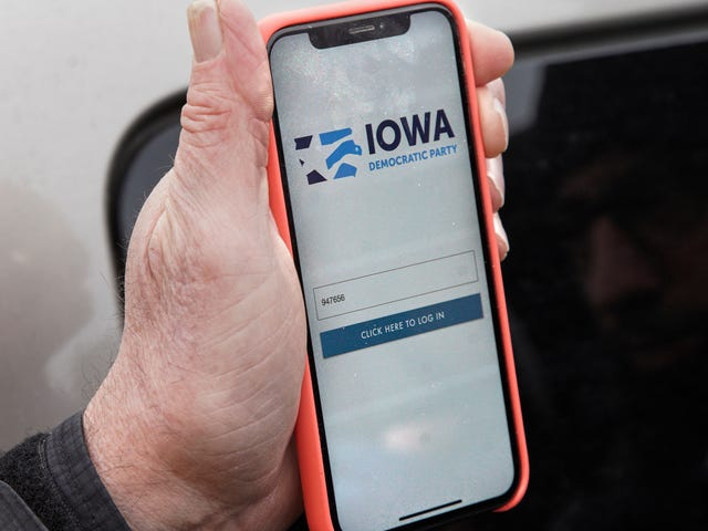 Nevada-demokratene sier bare nei til alle apper etter Iowa-katastrofen