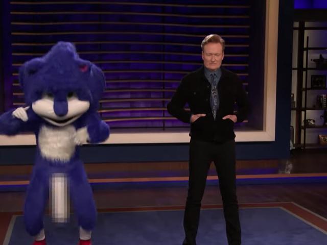 Conan gifle les fans de Sonic, trop inquiets, avec un hérisson wang qui rebondit de manière agressive