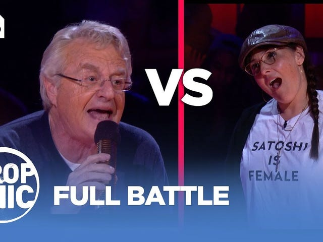 Rap battle: Ricki Lake and Jerry Springer