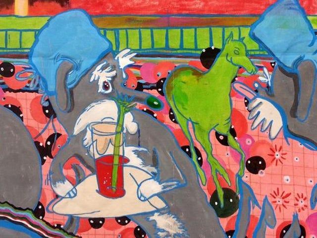 The Weird Artist Who Combines Surrealism And Retrofuturism