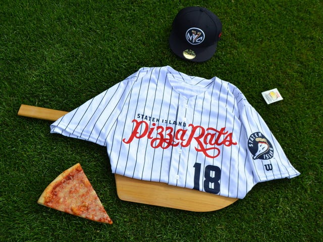 "Italian Heritage Group Manages To Get Offended By Minor League ""Pizza Rats"" Promotion"