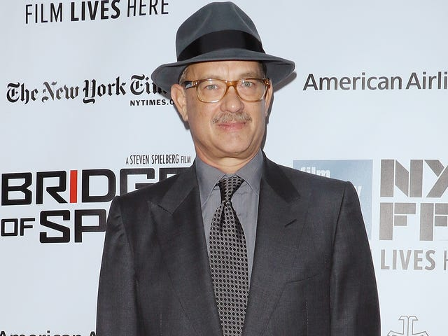 Tom Hanks is just going to keep playing old-timey newsmen until we all love journalism again