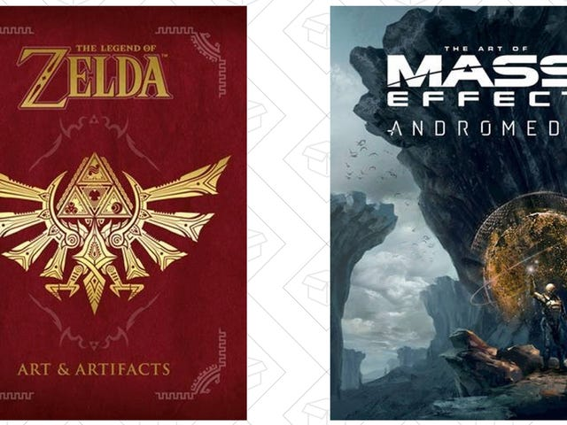 Celebrate the New Zelda and Mass Effect Games With $20 Hardcover Art Books