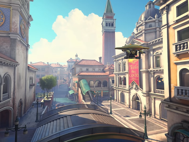 Overwatch's New Map Is A Beautiful But Imbalanced Deathtrap