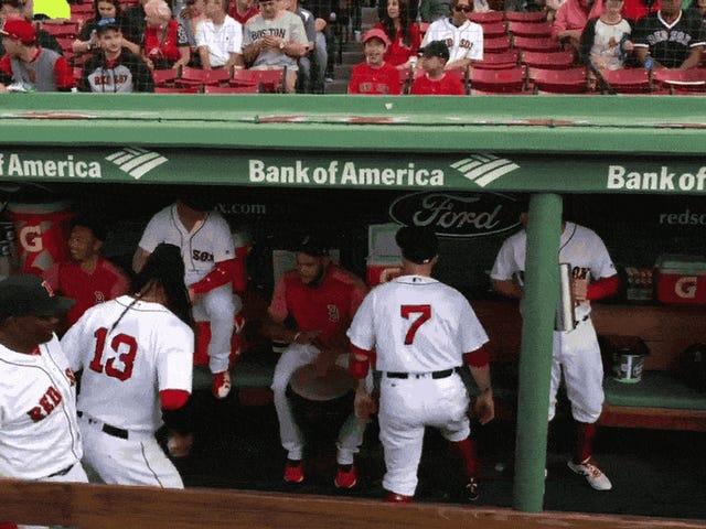 La nouvelle bande de Red Sox Dugout n'est pas à moitié mauvaise