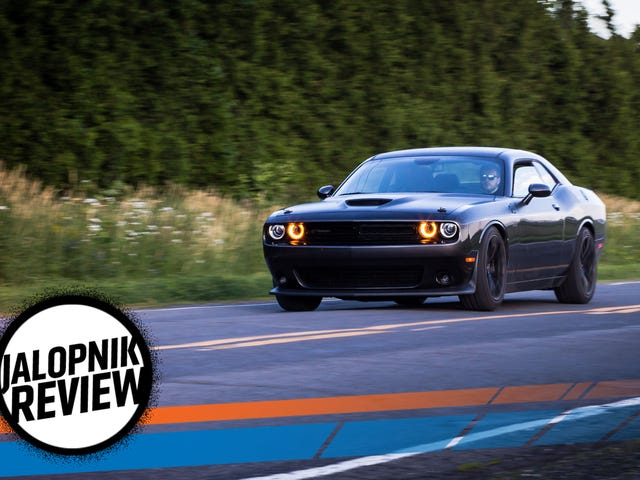 The 2017 Dodge Challenger T/A 392 Is A Middle Finger To The Future Of Cars