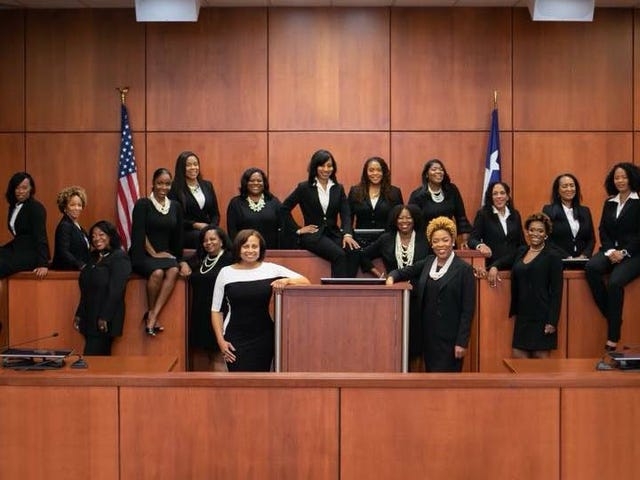 'For All Those People Who Wondered If They Could': Black Women Judges Make History in Texas