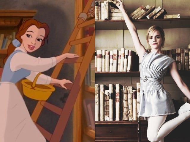 Emma Watson at spille Disney Cartoon, som ikke vil stoppe med at synge om bøger