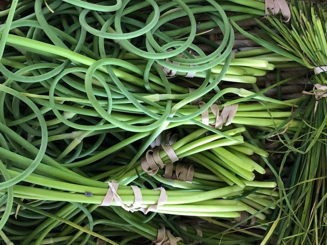 How to use garlic scapes in your cooking