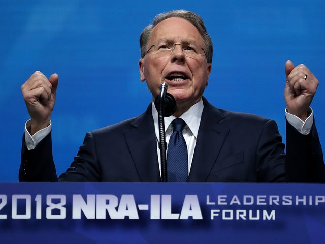 The NRA Is a Broke Bitch, Actually