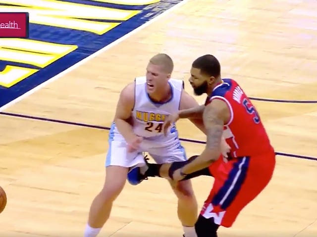 Markieff Morris Ejected After Kicking Mason Plumlee In The Dick And Balls