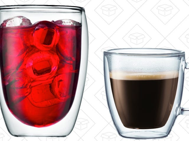 It's a Great Day to Upgrade to Bodum's Beautifully Functional Double-Walled Drinkware