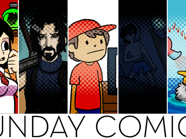 Sunday Comics: You Look... Different.