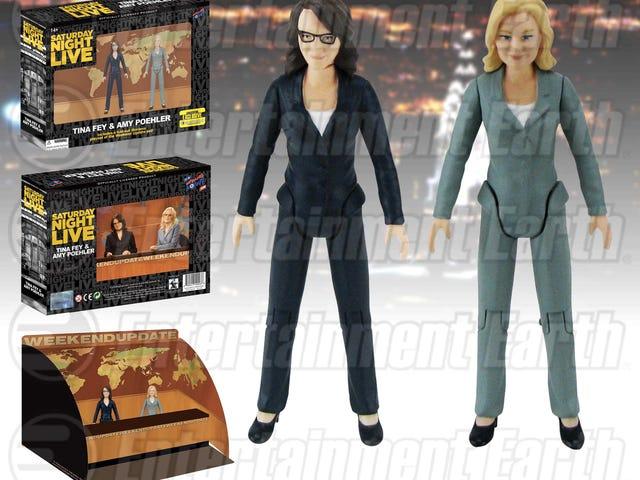 Tina Fey og Amy Poehler Weekendopdatering Tallene findes på Comic Con