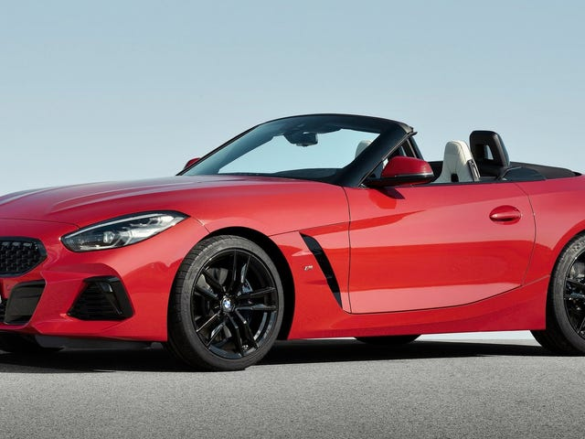 The 2019 BMW Z4 Is a 340-HP Stunner