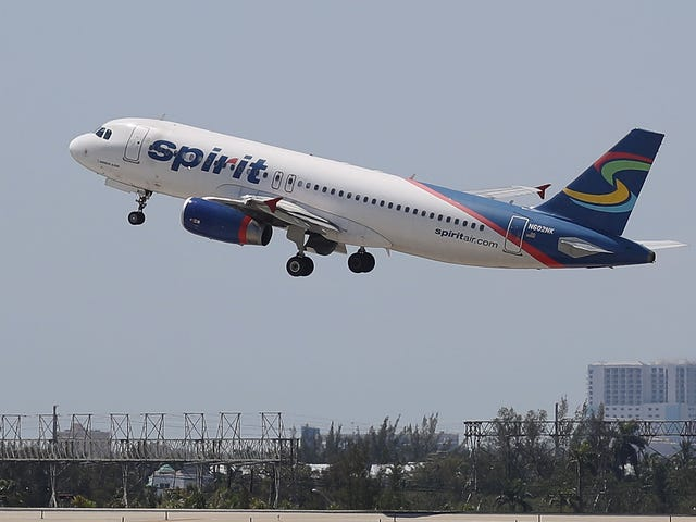 Man Accused of Sexually Assaulting Sleeping Woman on Spirit Airlines While Wife Sat Next to Him