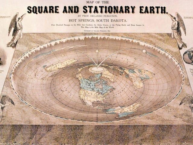 Quién empezó la teoría de la conspiración de la Tierra plana a la que le siguieron miles de personas